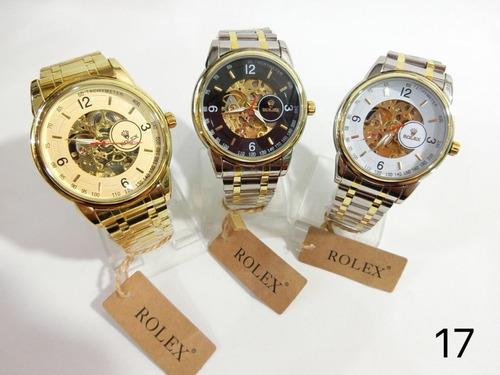 relojes automáticos de hombre varios modelos