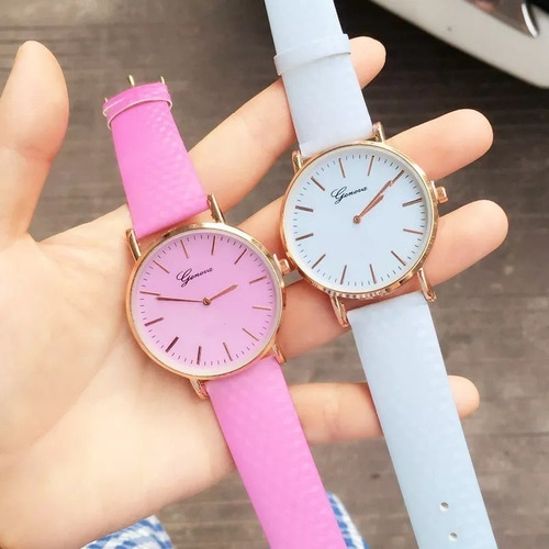 relojes  camaleón moda casual mayoreo proveedor 3 colores