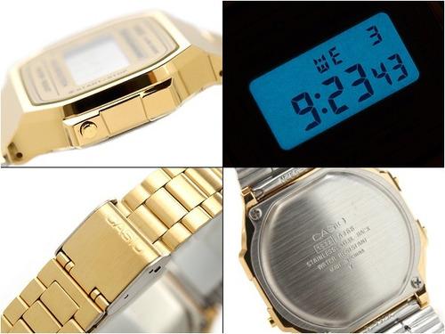 relojes casio a-168wg 100% original envio inmediato!!
