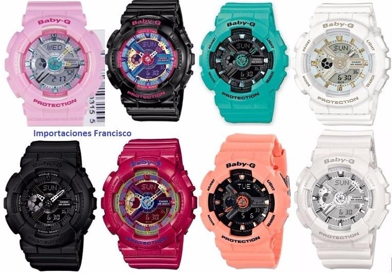 d621eae2a8e7 Relojes Casio Baby G-shock - S  295