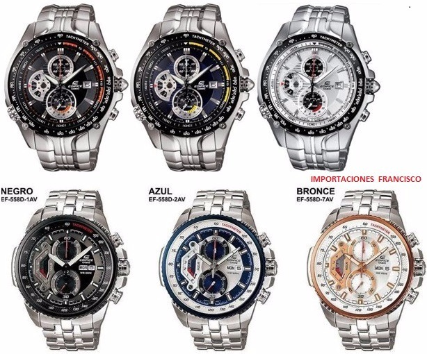 068d2de3ff0b Relojes Casio Edifice