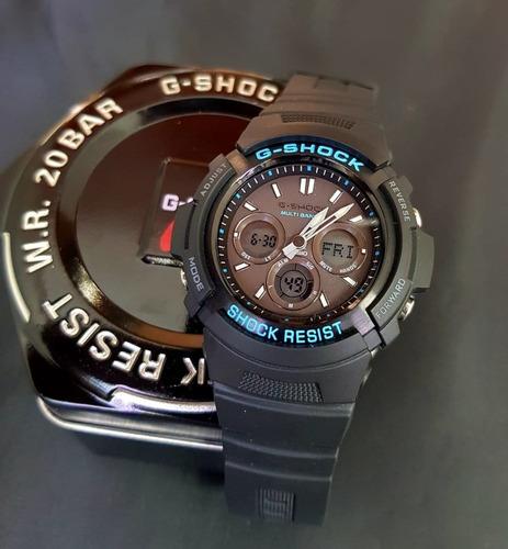 relojes casio g-shock sumergibles doble hora