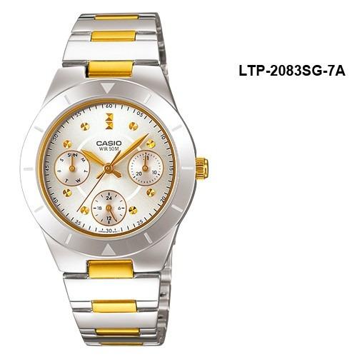 relojes casio ltp2083sg 100% original garantia 5 años