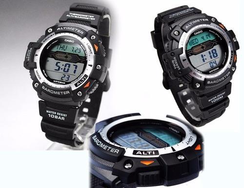 relojes casio sgw300h acero altimetro barometro termometro