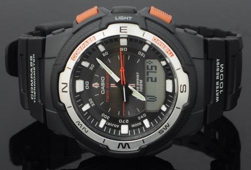 relojes casio sgw500 brújula termómetro sensor 100% original