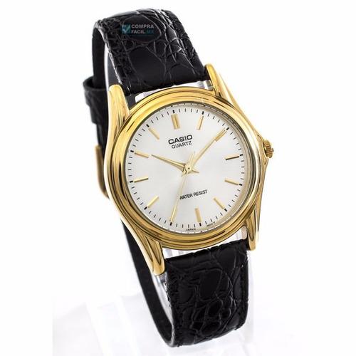 relojes casio - varios modelos - correa de piel - cfmx