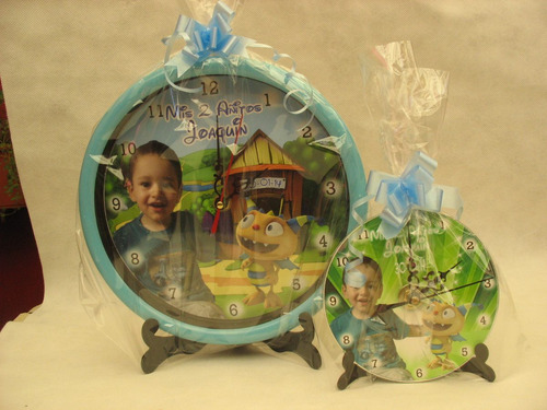 relojes cd  con foto o personaje catalogo 3100 diseños