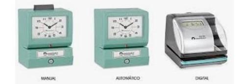 relojes checadores todas marcas reparación refacciones