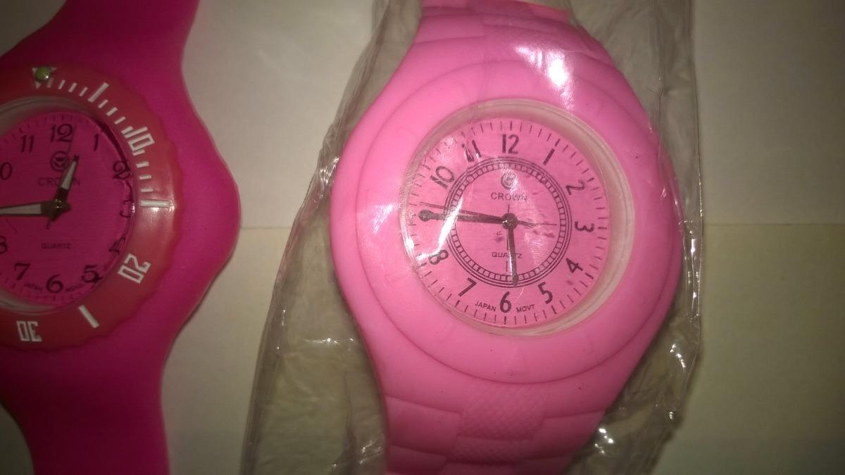 relojes crown pulsera color rosado para damas. Cargando zoom. f45910446804