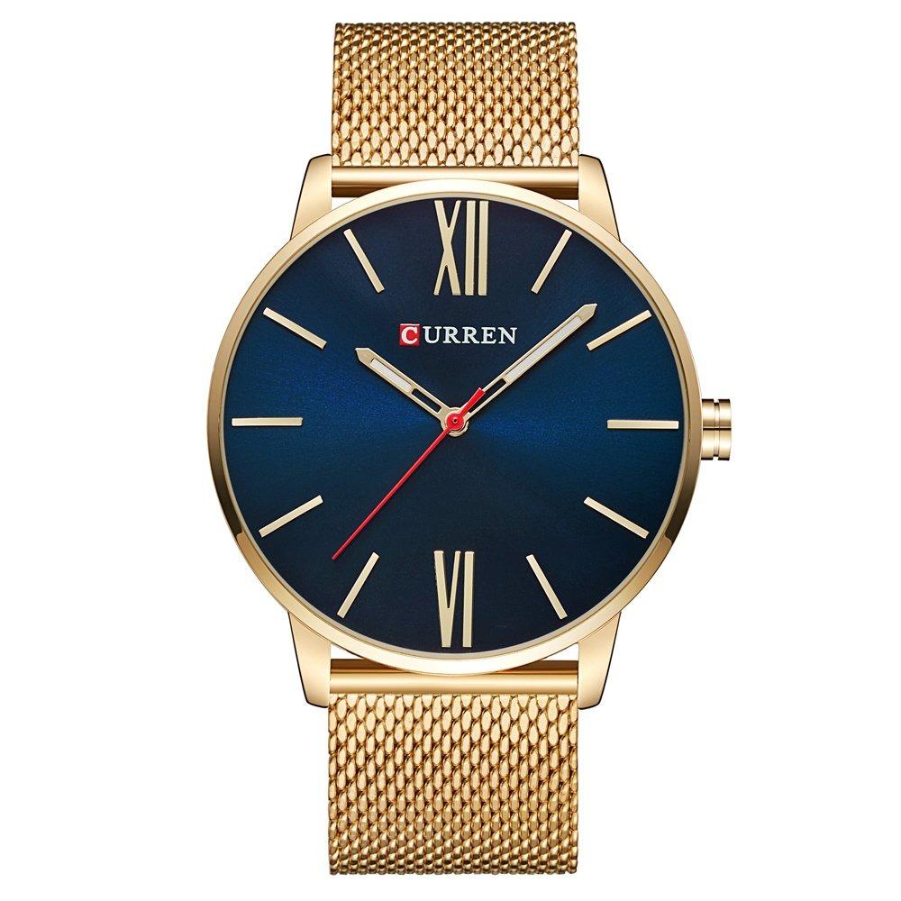 relojes curren para hombres marca top ultra ultra delgado. Cargando zoom. 57dd85f77ded