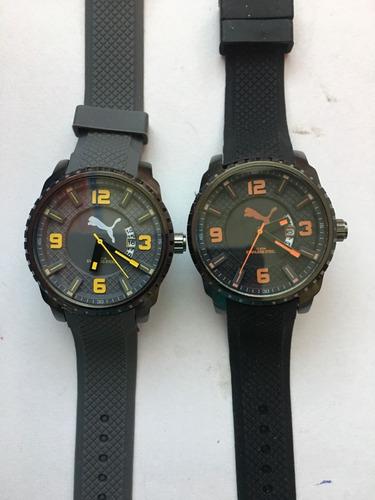 relojes de caballero en caucho..!! exelente calidad!!!