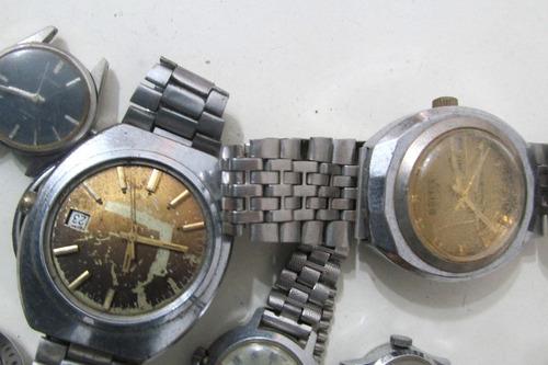 relojes de colección fero/britix/seiko p/reparar b163