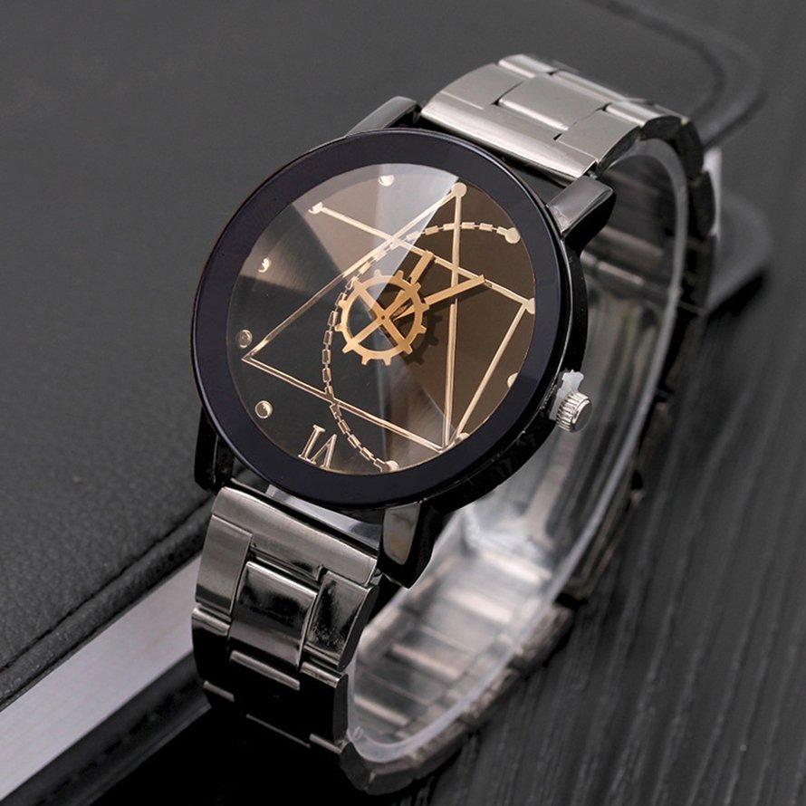 Relojes De Brújula Pointer Reloj Cuarzo Engranaje Marcar Re PZkXiu