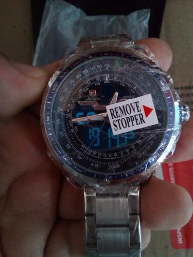 relojes de cuarzo shark para hombre nuevos varios modelos