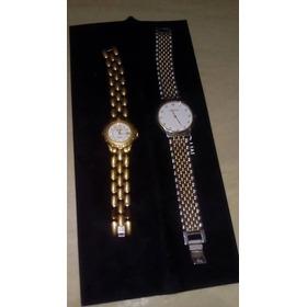 Relojes De Damas Y Caballero Michelle Originales Par
