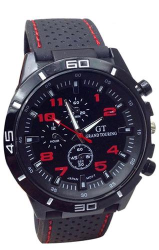 relojes de hombre de goma gt  por mayor x 5 unidades