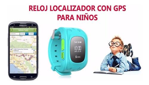 relojes de niños con geolocalizador