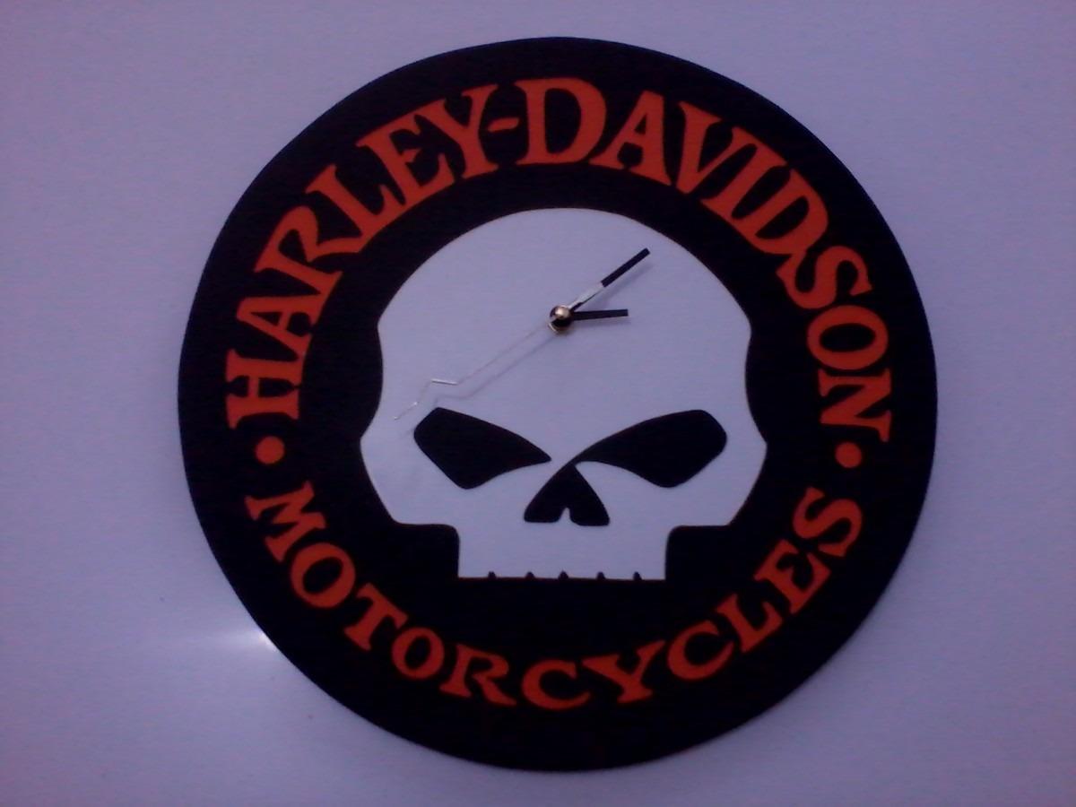Relojes de pared decorativos harley davidson en - Relojes decorativos pared ...