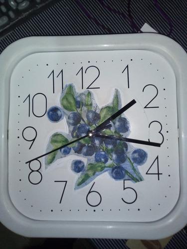 relojes de pared en madera personalizados