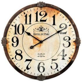 Relojes Hierrometalmadera De Grandes Vintage Deco Pared UGqSMVpz