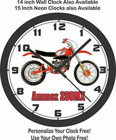 250mx Clásica Del De Paredammex Bici Relojes Motocrós Rel w0OP8nk