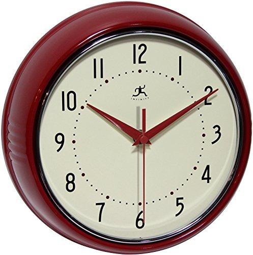 relojes de pared,ronda de metal infinity instrumentos re..