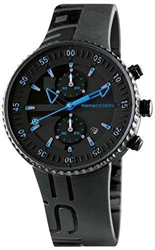 elegir oficial mejor precio de calle Relojes De Pulsera,momo Design Negro Dial Cronógrafo De ..