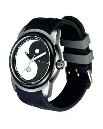 relojes de pulsera,reloj aluminum ying-yang masculino.....