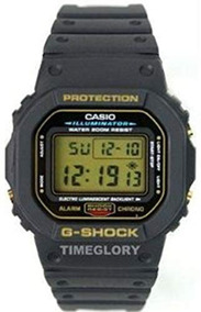 Relojes De Pulsera,reloj Casio G shock Dw5600eg 9 Negro..