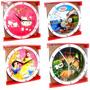 Reloj De Pared De Dibujos Animados 20 Cm
