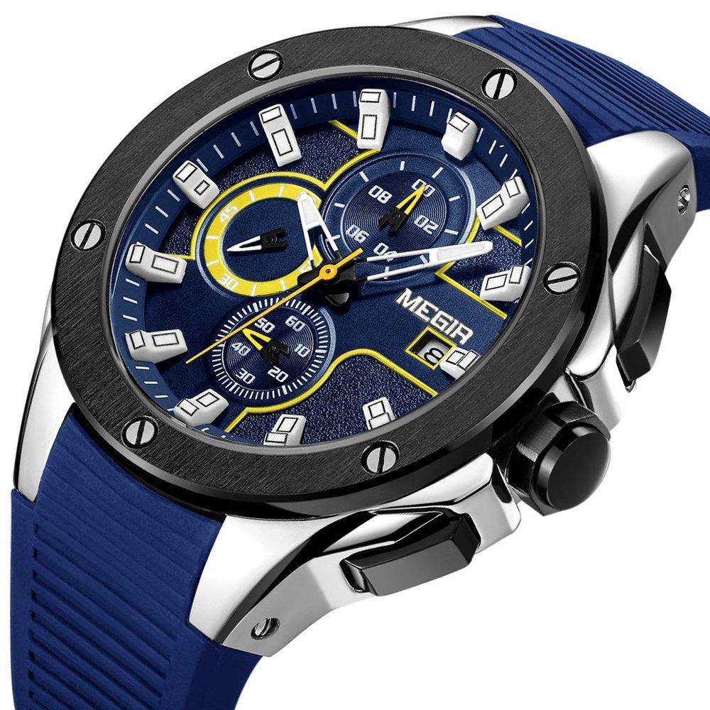 8d4c56b65d69 Relojes Deportivos Casuales Para Hombres