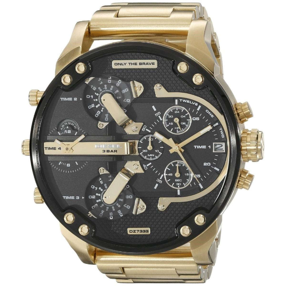 21c02a9a5173 Relojes Diesel Dz Precio Hombre Digital 10 Bar Dorado -   426.900 en ...