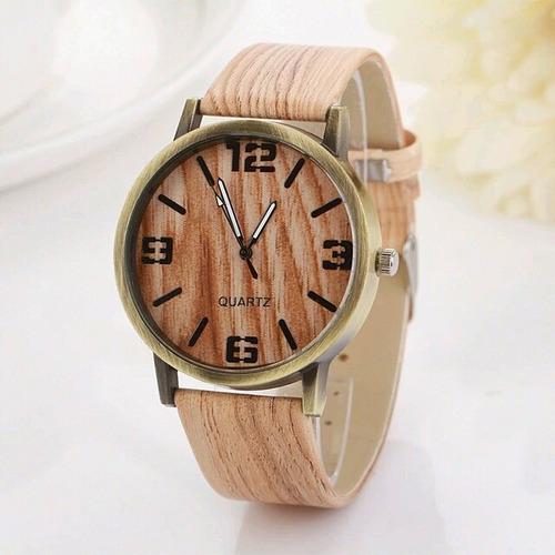 relojes en color madera retro vintage, envio gratis!