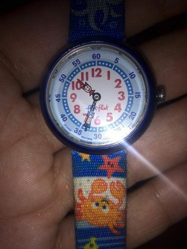 relojes flick flack de niño y niña.
