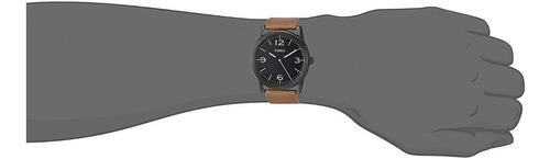 relojes fossil bq2305 clasico - cuero original nuevo en caja