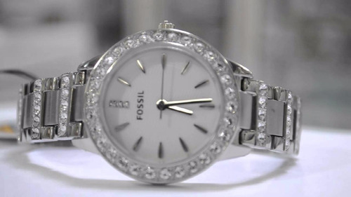 relojes fossil mujer es2362  acero originales nuevos en caja