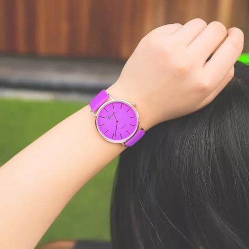 relojes geneva camaleón moda casual mayoreo proveedor