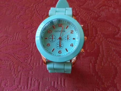 relojes geneva unisex fashion 2014 silicona