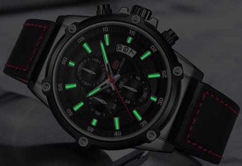 relojes hombre deportivos tacticos mini focus 0175 onc  caja