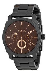 Relojes Hombre Fossil Acero Inox Fs 4682 100% Original Inmed