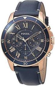 Relojes Hombre Fossil Fs5237 Grant Sport Chronograph Blue Le