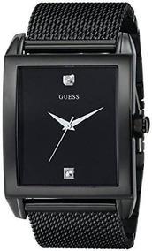 Relojes Hombre Guess U0298g1 Diamond acentuada Negro mes 280