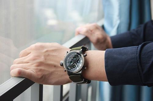 relojes hombre  militar navy seal sport analogo