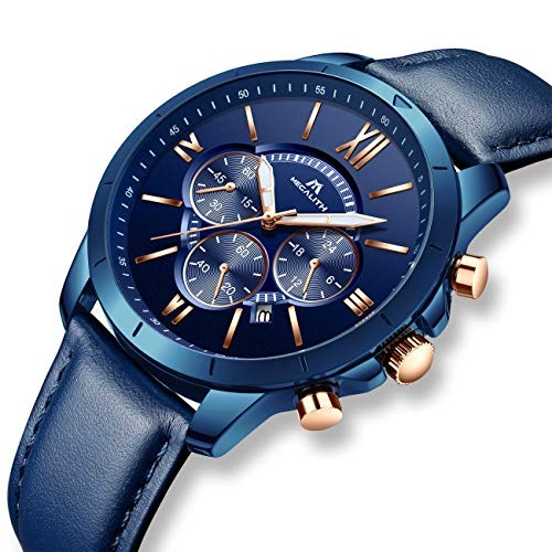 aea87478e6ef Relojes Hombre Reloj Grandes De Pulsera Militar Impermeable ...
