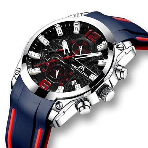 443e2da7c150 Relojes Hombre Relojes Grandes De Pulsera Deportivo Militar ...