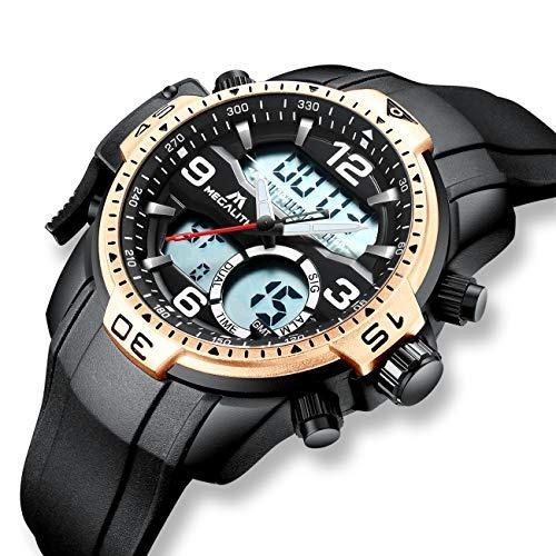 43ce60ab2fda Relojes Hombre Relojes Grandes De Pulsera Militares Digital ...