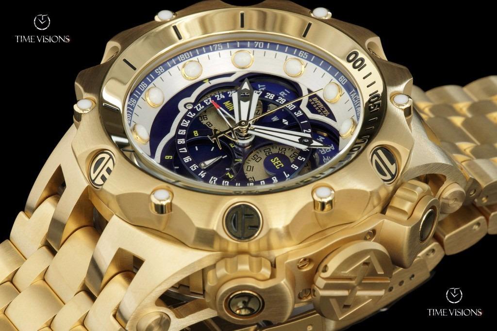 talla 40 b48ef 9501d Relojes Invicta Mens Swiss Reserve Venom Hybrid Gold18kl Org