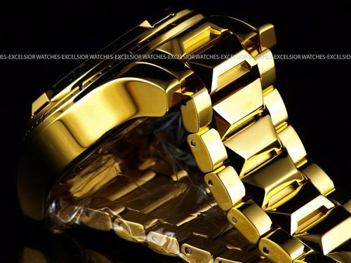 relojes invicta reserve excursion swiss gold 18kl bracelet
