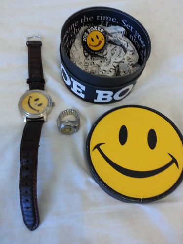 relojes joe box marca timex, unicos