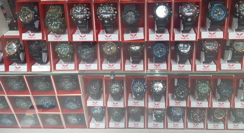 relojes kairos originales tácticos en caja